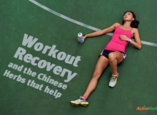 TCM herbs for workout recovery
