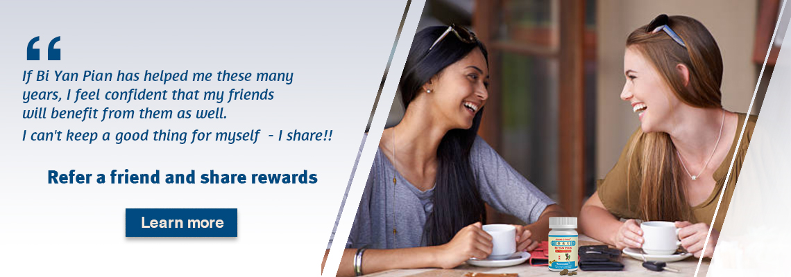 Refer a friend to get rewards